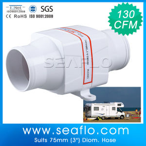 Blower Fan Seaflo 130cfm Marine & RV DC Blower Fan Centrifugal Blower pictures & photos