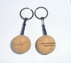 Top Quality Wonderful Custom Foam Wood Keychain pictures & photos