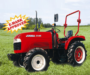 Jinma 4WD 20HP Wheel Farm Tractor with CE Certification (JINMA 204E) pictures & photos