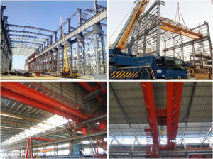 Qd Heavy Duty Cabin Control Fast Speed Electric Traveling Overhead Crane for Material Handling pictures & photos