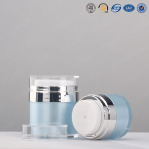 Acrylic Airless Bottle for Beauty Cream pictures & photos