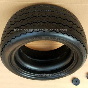 18X 8.50-8 Sawtooth Flat Free Golf Car Tires pictures & photos