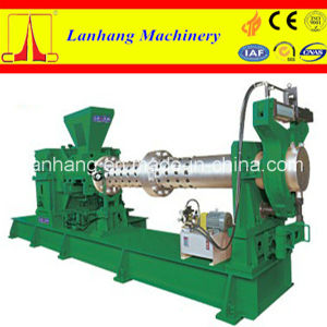 Low Consumption Cold Feeding Single Screw Rubber Extruder pictures & photos
