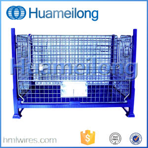 Heavy Duty Scale Industrial Folding Steel Stillage pictures & photos