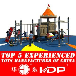 2017 Plastic Playground Material and Outdoor Playground Type Kids Toys (HD14-107A) pictures & photos