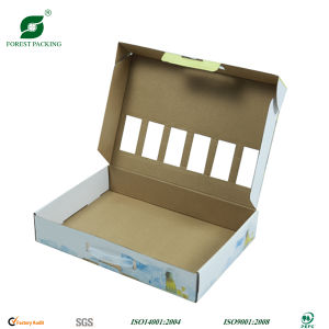 Color Printed Foldable Packaging Box Handle pictures & photos