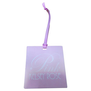 Hang Tag Using 3mm Double Side Satin Ribbon (WD2000) pictures & photos