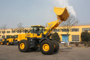 Front Wheel Loader Luqing Lq968 6ton Construction Loaders pictures & photos