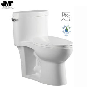2150 Cupc Bathroom Wc Sanitary Ware Siphonic One Piece Ceramic Toilet pictures & photos