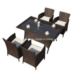 Outdoor Rattan Furniture for Garden / Living Room with Aluminum (4007-1) pictures & photos