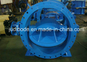 Flanged Double Eccentric Butterfly Valve pictures & photos