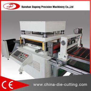Brown Paper Roll Die Cutting Machine pictures & photos