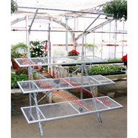 Display Rack, Flower Rack, Metal Flower Pot Rack, Artificial Flower Display Racks, Greenhouse Rack, Storage Rack, Metal Rack, T019