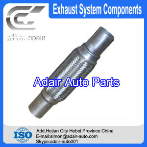 45*100*200 Stainless Steel Exhaust Flexible Pipe with Tube