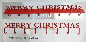 En71 ASTM Standard Wooden Christmas Wall Sign Plaque pictures & photos