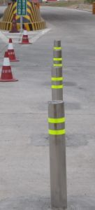 Automatic Hydraulic Bollard (DBO-275H4-600) with Independent System