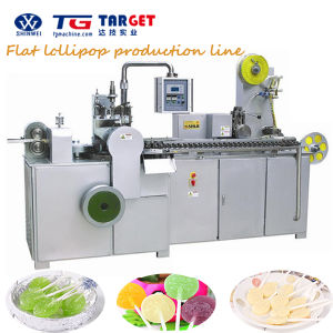 Professional Flat Lollipop Making Machine for Sale with Ce Certification pictures & photos