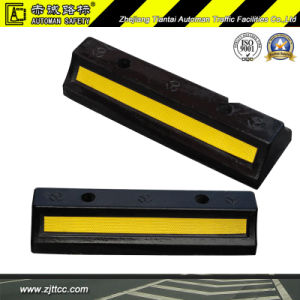 Underground Garage Recycled Rubber Parking Safety Stops (CC-D03) pictures & photos