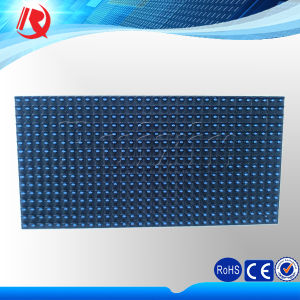 Waterproof IP65 Outdoor Semioutdoor Advertising Single Blue Color P10 LED Display Module pictures & photos