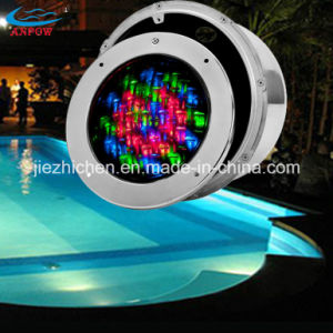 Underwater LED Built in Pool Light with Stainless Steel Face Ring
