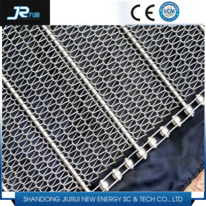 Self Stacking Mesh Belt with Baffle for Frozen Food pictures & photos