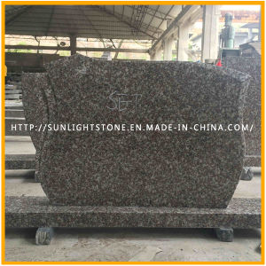 Cheap Red Granite G664 Tombstone Headstone for Slovak Market pictures & photos
