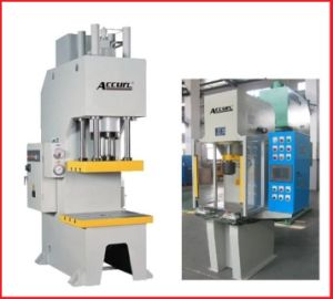 Small CNC Punching Desktop C Type Hydraulic Press pictures & photos