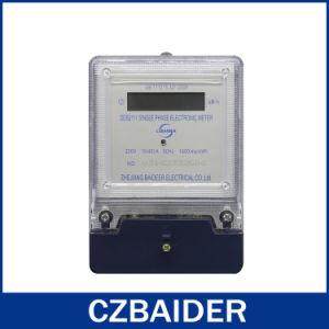 Single-Phase Digital Display Electricity Meter Best Price (DDS2111)