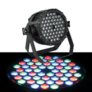 54X3w RGB 3in1 LED Waterproof PAR Can Light pictures & photos