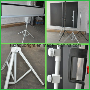 "Tripod Projector Screens 70""X70"" with Competitive Price"