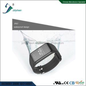 2018hot Selling Continuous 24 Hours Monitoring Heart Rate Mult-Function Smart Bracelet in Line with Ce, RoHS, FCC Standard pictures & photos