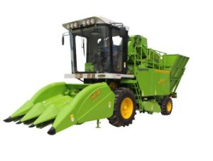Mini 3 Rows Self-Propelled Corn Harvester Repaer