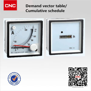 3 Needle Table of Panel Meter pictures & photos
