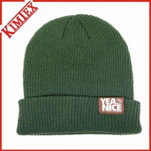 Hot Sale Fashion Double Layer Winter Cuffed Hat (kimtex-313) pictures & photos