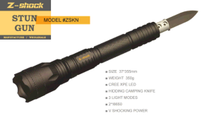 Tactical Stun Gun with Emergency Hammer