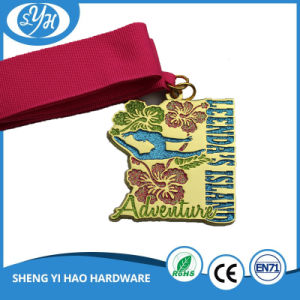 Custom Black Plated 2D Sport Marathon Run Medal pictures & photos