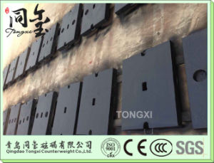 Iron Casting Sand Casting Forklift Counter Weight pictures & photos
