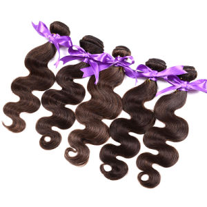 7A Brazilian Virgin Hair Body Wave with Closure 3 Bundles Halo Lay Human Hair Weave with Closure Brazilian Body Wave Gaga pictures & photos