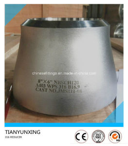 A403 Wps316 Butt Weld Seamless Stainless Steel Pipe Reducer pictures & photos