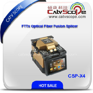 FTTX Optical Fiber Fusion Splicer Csp-X4 pictures & photos