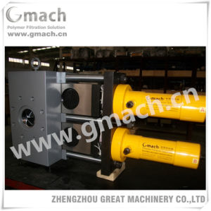 Double Plate Continuous Screen Changer for Plastic Extruder pictures & photos