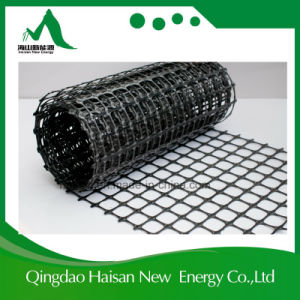 Synthetic Materials 30kn Pet Polyester Glass Fiber PP Pliastic Geo Grid pictures & photos