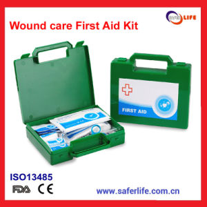 Wound and Burn Care First Aid Kit in Home and Office Use pictures & photos