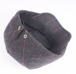Wholesale Wool Classical Beret Autumn and Winter Warm Unisex Peaked Cap pictures & photos