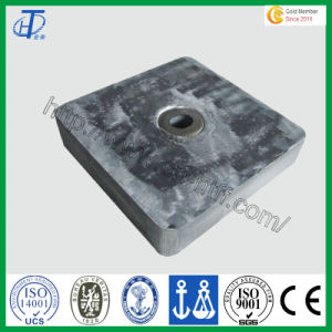 Zinc Alloy Anode for Pressure Water Tank