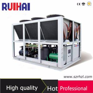 High Performance Air Cooled Chiller with Screw Compressor Used for Electronic Components Cleaning pictures & photos