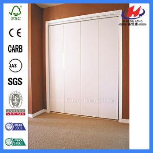 Solid Wood Furniture Closte Bi-Folding Door (JHK-B01) pictures & photos