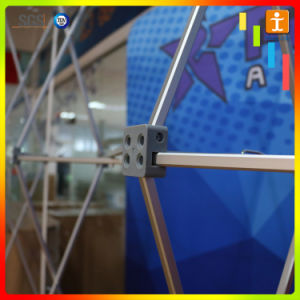 Newest Custom Popular Aluminum Fabric Frame Display Stand (TJ-07) pictures & photos