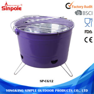 Optional Colors Dust-Free Portable Mini Ceramic BBQ Grill Barbecue pictures & photos