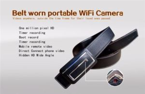 720p Wireless Belt Video Cam WiFi IP Mini Security Monitor Camera DVR Recorder pictures & photos